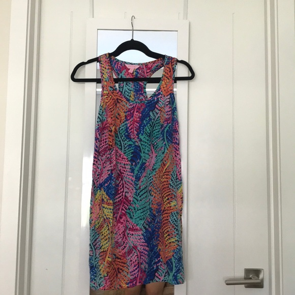 Lilly Pulitzer cover up dress